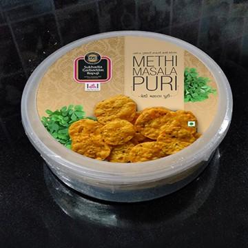 Methi Masala Puri